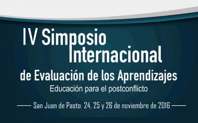 IV Simposio Internacional de Evaluación de los Aprendizajes