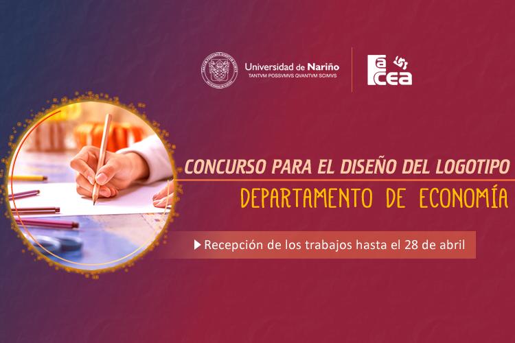 Convocatoria Concurso para el Diseño del Logotipo del Departamento De Economía