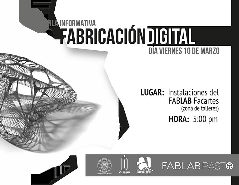 Charla informativa Fabricación Digital